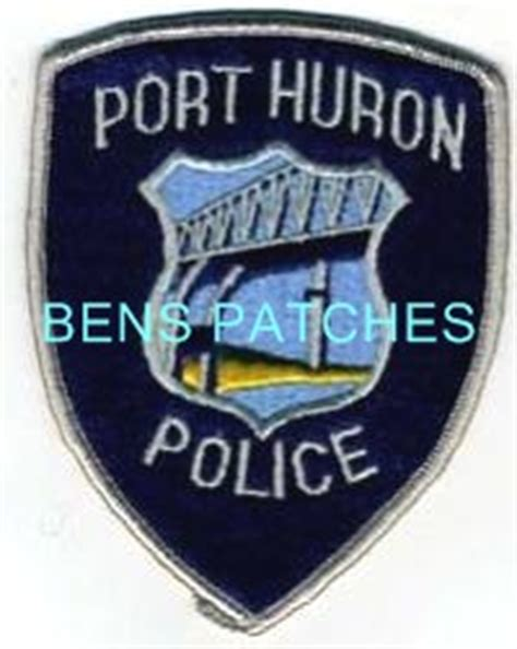 Port Huron Arrest Records Ben S Patch Collection