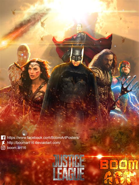 Poster Justice League Aquaman 21 Ukuran 60x90cm New Justice League Poster By Boomart16 On Deviantart