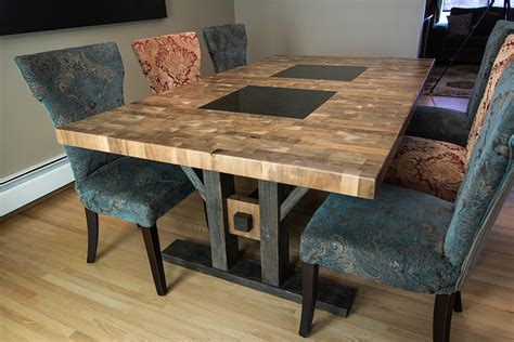 Kitchen Granite Ideas how to refinish a butcher block kitchen table butcher