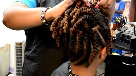 african braid salons fm 1960 flat twist updo youtube