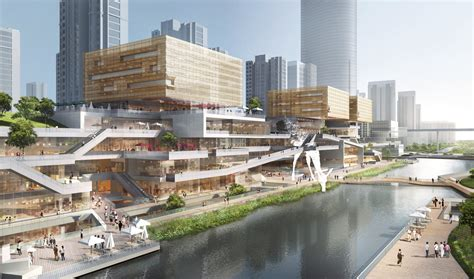 benoy releases images   waterfront development