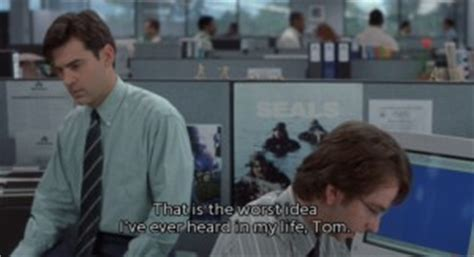 Office Space Jumping To Conclusions Office Space Tom Smykowski Quotes Quotesgram