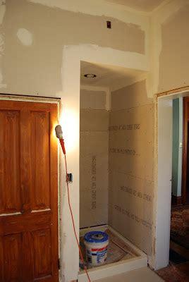 Hardibacker Shower Walls by Free Installing Backer Board Plaster