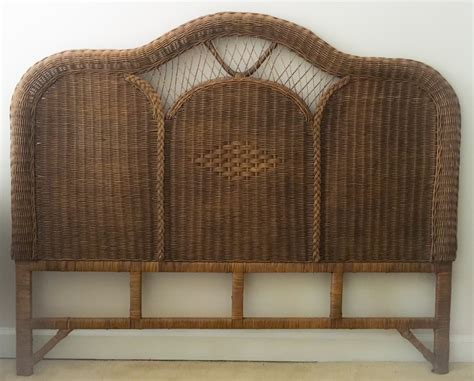 wicker headboard wicker headboard by lotuspetale