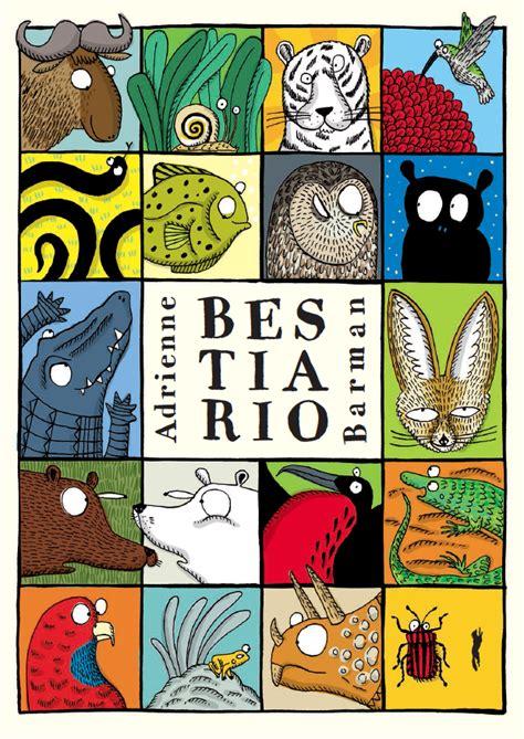 libro bestiario libros del zorro rojo infantil bestiario
