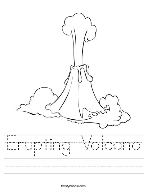 volcano worksheets welcome to memespp
