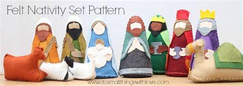 pattern felt nativity free nativity scene felt pattern search results