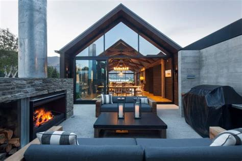 Modern Two Story House Plans new zealand s best holiday homes provide plenty of wow