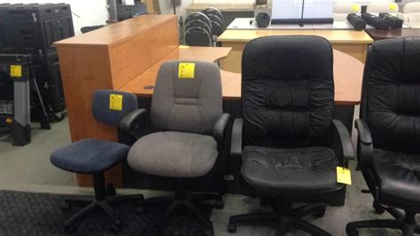 office furniture it equipment auction key