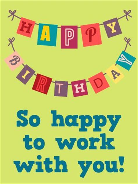Happy Birthday Co Worker Card Best 25 Birthday Wishes For Boss Ideas On Pinterest