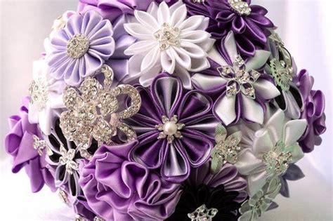 Handmade Wedding Bouquet Ideas - lilac and lavender wedding ideas trendy tuesday