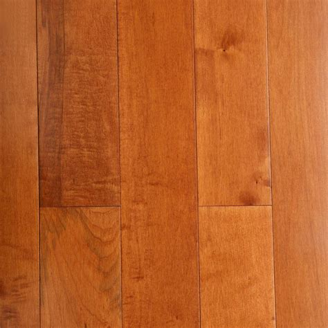 Maple Hardwood Flooring Bruce Maple Cinnamon 3 4 In Thick X 5 In Wide X Random