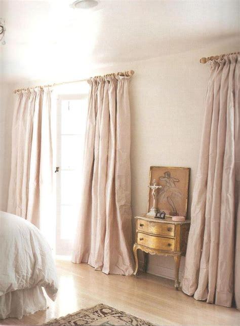 feminine curtains feminine dusky pink silk curtains so dreamy window