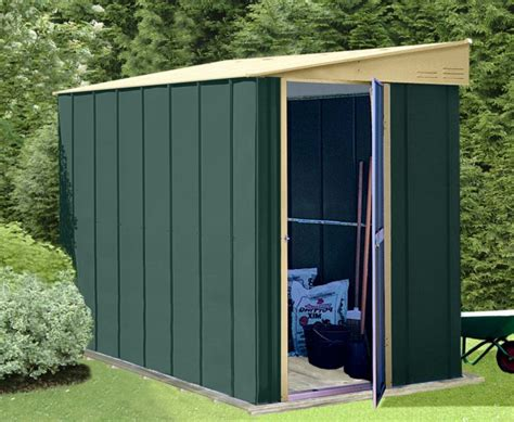 Garden Shed Canberra by Canberra Lean To Style Shed 4x8ft Including Timber Floor