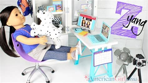 doll desk set doll z yang desk set review