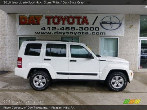 jeep liberty 2010 interior white 2010 jeep liberty sport 4x4 slate