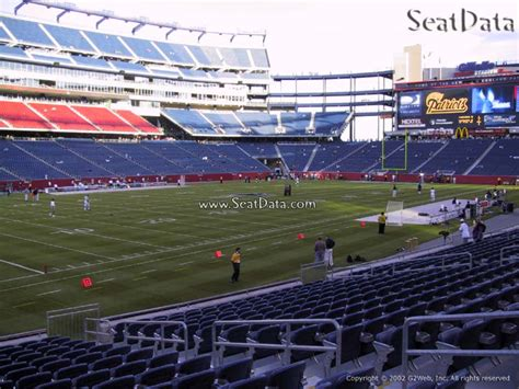 section 122 gillette stadium new england patriots gillette stadium section 137