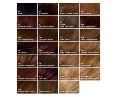 nice and easy hair colour chart clairol hair color chart 2017 om hair