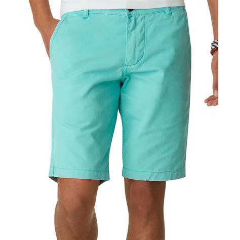 Shorts Khaki lyst dockers alpha flat front khaki shorts in blue for