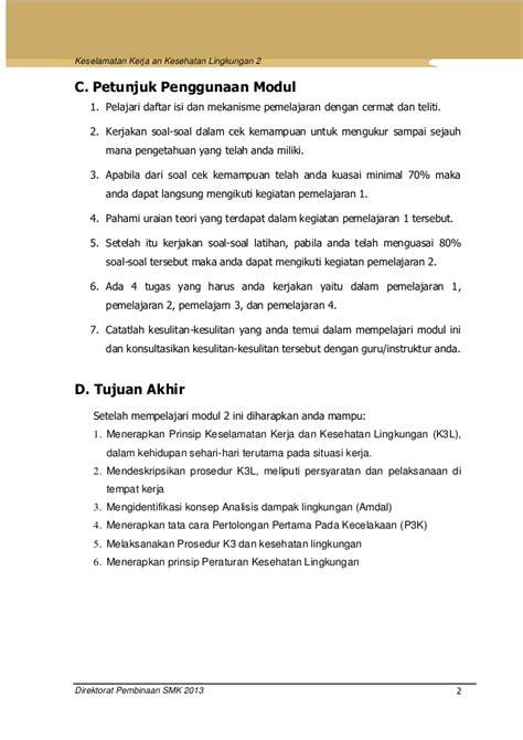 Menerapkan Keselamatan Kesehatan Keamanan Kerja Dan Lingkunga U46 Keselamatan Kerja Dan Kesehatan Lingkungan