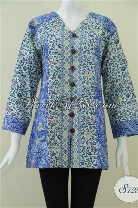 baju batik  wanita gemuk  trendy blscd xl