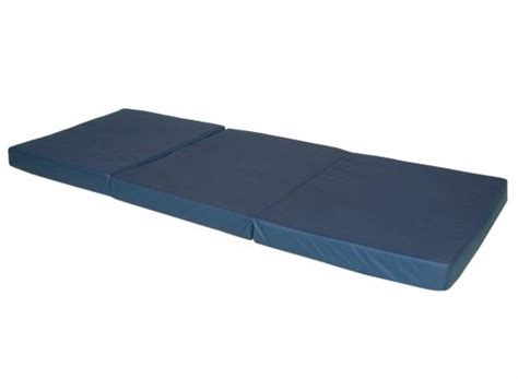 Hide A Mat Portable Mattress by Trifold Hide A Mat Folding Mattress Navy
