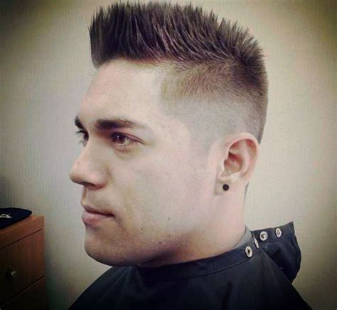 outrages mens spiked hairstyles 17 best images about heren kapsels on pinterest side