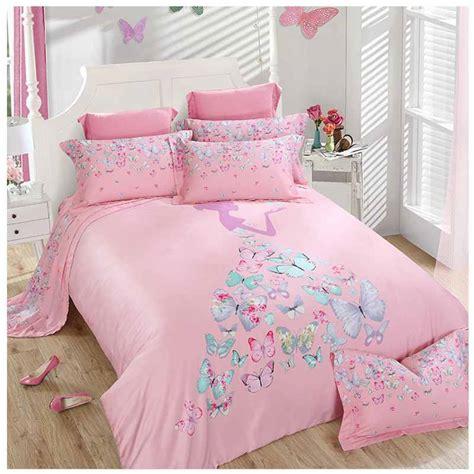 aliexpress com buy pink tencel bedding set princess 4pcs