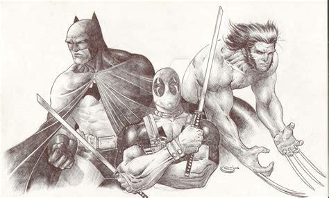 sketchbook vs sketchbook x pen sketch batman deadpool wolverine by sajad126 on deviantart
