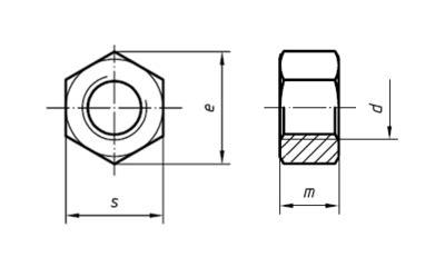 Tap M14 X 1 5 By Trio Teknik alt莖k 246 蝓e somun teknik resmi