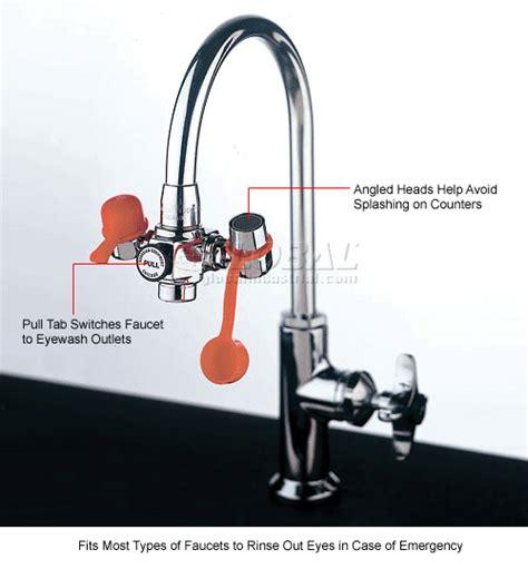 Faucet Mounted Eyewash Station Eyewash Stations Amp Showers Emergency Eyewash Stations