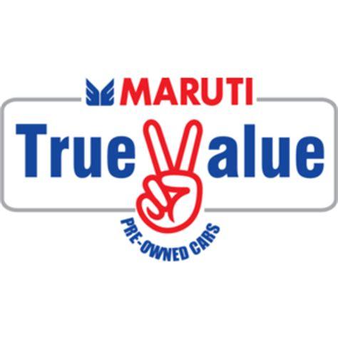 maruti true value logo vector logo of maruti true value