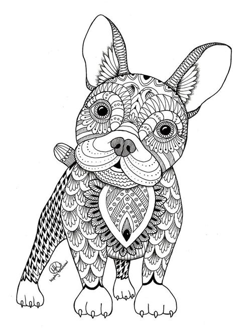 coloring pages of dogs for adults 17 best ideas about coloring pages on
