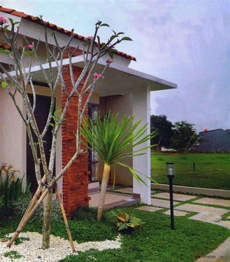 22 Desain Taman Mungil rumah aksen bata property 96