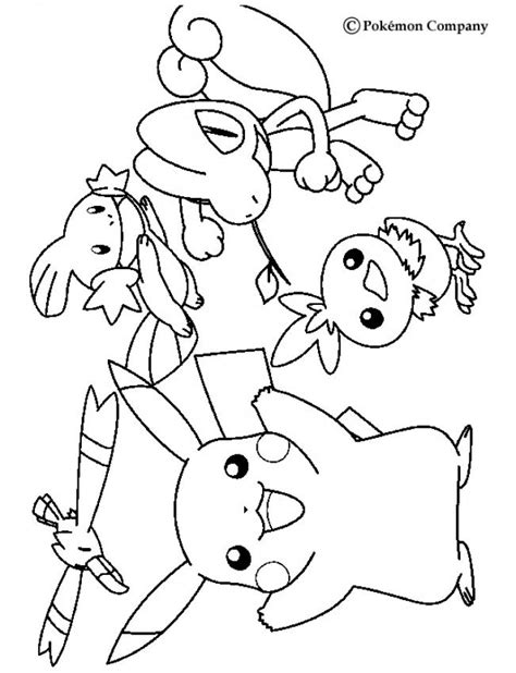 coloring pages pikachu and friends pikachu and friends pokemon colouring pages choosboox