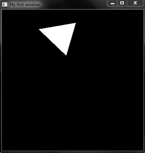 opengl tutorial keyboard opengl code to rotate triangle using key coders hub