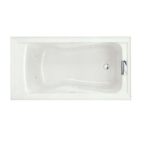 Standard Shower Insert American Standard Evolution 5 Ft Whirlpool Tub With