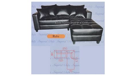 Jual Sofa Model Arab jual sofa model l minimalis ruby harga promo