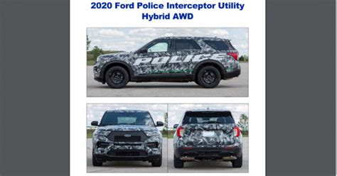 2020 Ford Interceptor Utility Specs by Ford Hybrid Are Pursuit Ready For Nypd