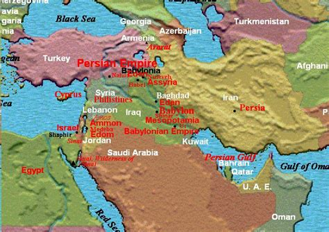 middle east map bible times map of middle east in bible times