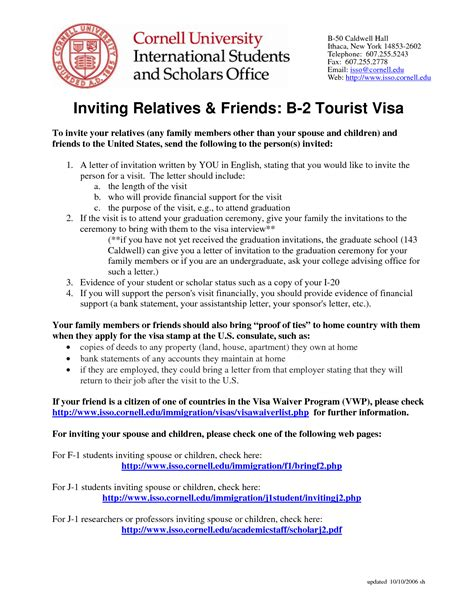 Invitation Letter For Tourist Visa Philippines Invitation Letter For Tourist Visa To Philippines Cover Letter Templates