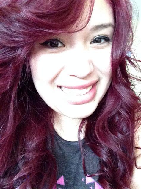 loreal hi color magenta loreal hicolor magenta my hair makeup hair and tips