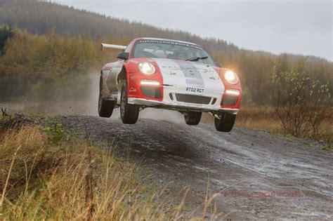 porsche rally car jump chris harris drives a 997 rally car