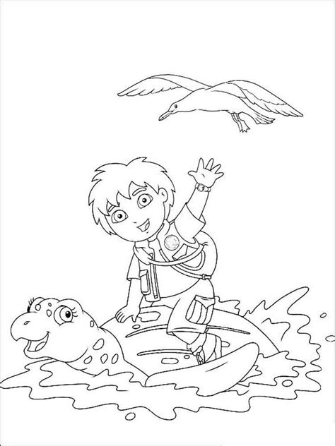 nick jr go diego go coloring pages 89 nick cartoon go diego go coloring page 8 year