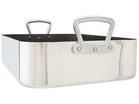 V Rack Roasting Pan by R S V P International Commercial Quality Roasting Pan With Rack Shipped Free At Zappos
