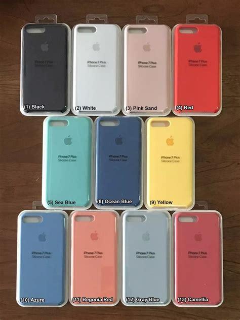 estuche original iphone  apple   silicone case