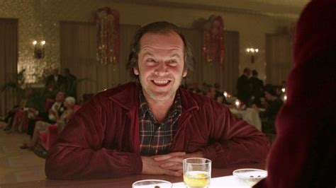 jack nicholson the shining movie stanley kubrick tom girard