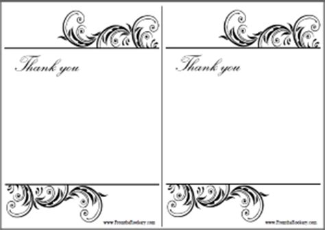 printable thank you card black and white printable thank you cards black and white www pixshark