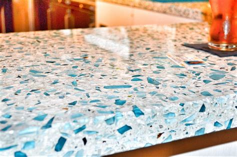 Sea Glass Kitchen Countertops by Ways To Recycle And Make Money Wirral Skip Hire