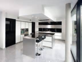 modern white kitchen ideas new modern black and white kitchen designs from kitcheconcept digsdigs
